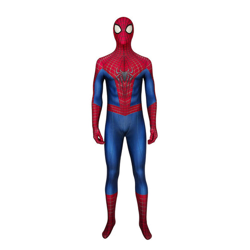 Movie Spider-Man: The Amazing Spider-Man Peter Parker Spiderman Jumpsuit Elastic Force Cosplay Costume - Cosplay Clans