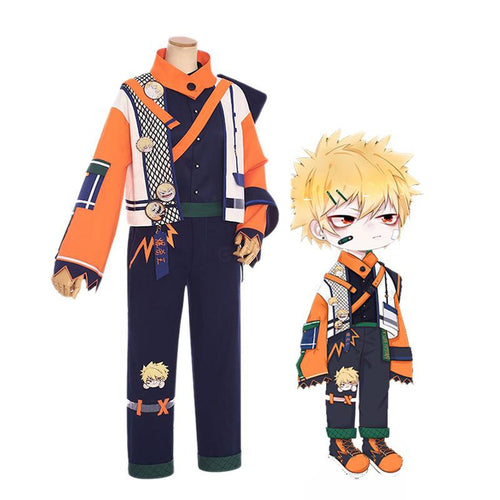 Anime My Hero Academia Katsuki Bakugo Casual Clothes Cosplay Costumes - Cosplay Clans