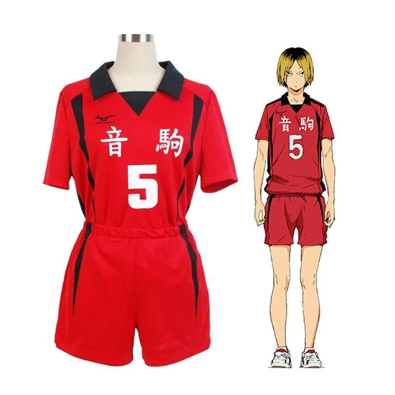 Anime Haikyuu Nekoma High School Kozume Kenma Uniform Cosplay Costume - Cosplay Clans