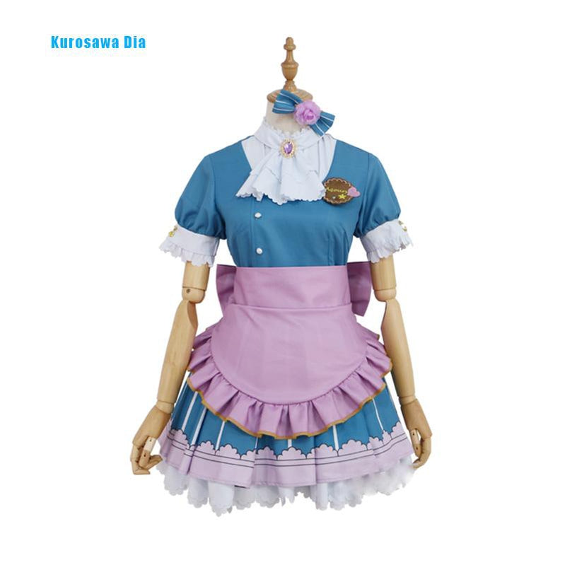 LoveLive!Sunshine!! Ohara Mari and Aqours All Members Valentine's Day Uniform Cosplay Costume - Cosplay Clans