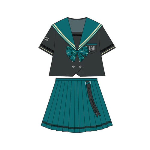 Anime My Hero Academia Female Midoriya Izuku JK Uniform Cosplay Costume - Cosplay Clans