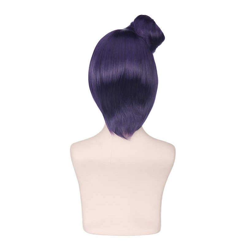 Anime Naruto Konan Short Purple Cosplay Wigs - Cosplay Clans