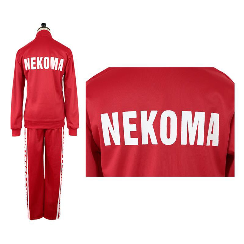Anime Haikyuu Nekoma High School Jacket Uniform Kozume Kenma Cosplay Costume - Cosplay Clans