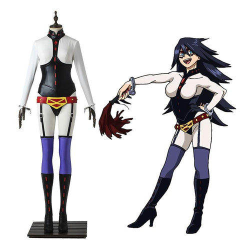 Anime My Hero Academia Nemuri Kayama Midnight Combat Suit Cosplay Costume - Cosplay Clans