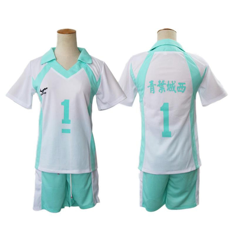 Anime Haikyuu Aobajohsai High Oikawa Tooru Uniform Cosplay Costume - Cosplay Clans