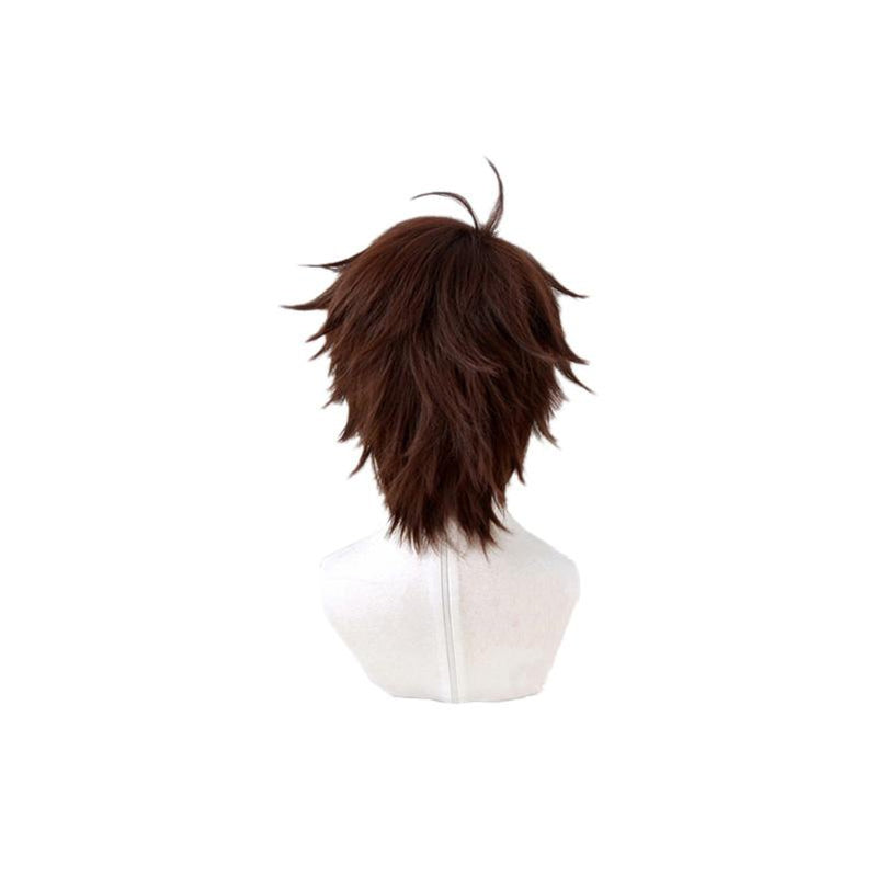 Anime Haikyuu Aobajohsai High Oikawa Tooru Short Brown Cosplay Wigs - Cosplay Clans
