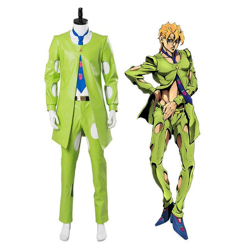 Anime JoJo's Bizarre Adventure Golden Wind Pannacotta Fugo Cosplay Costume - Cosplay Clans