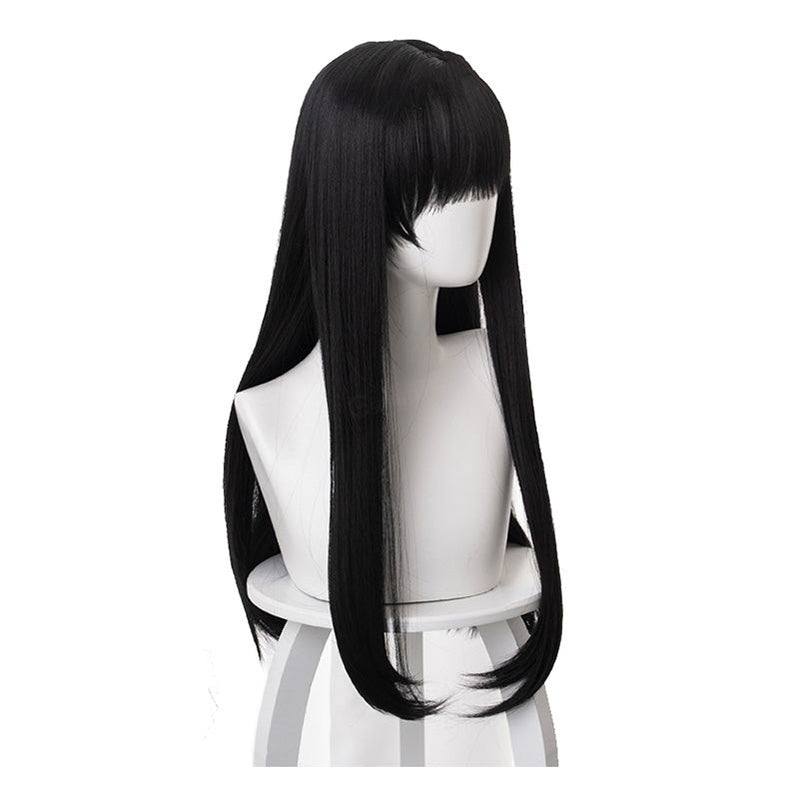 Citrus Mei Aihara Long Straight Black Cosplay Wigs