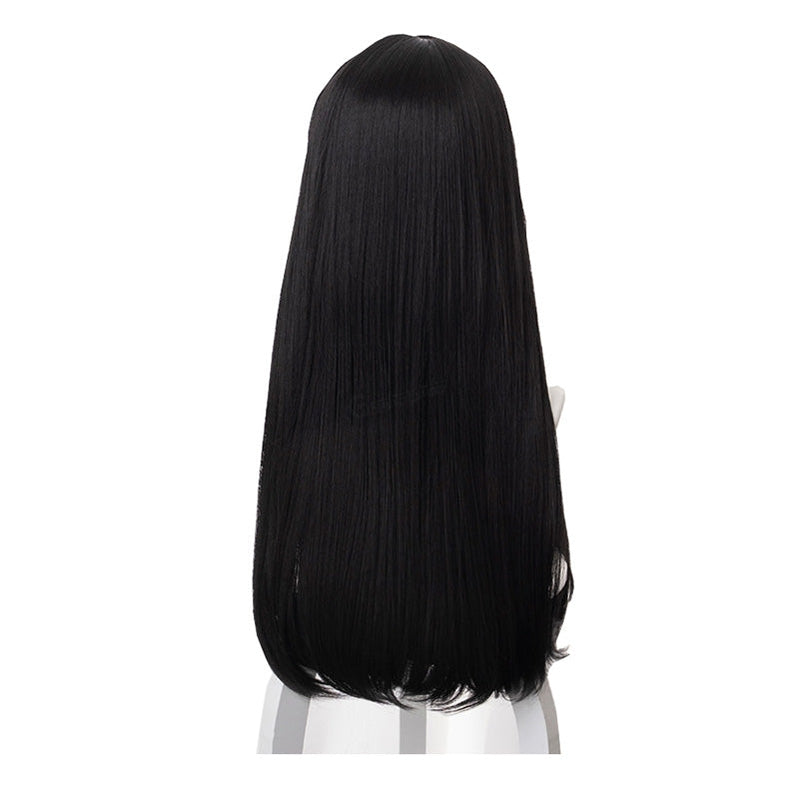 Anime Citrus Mei Aihara Long Straight Black Cosplay Wigs