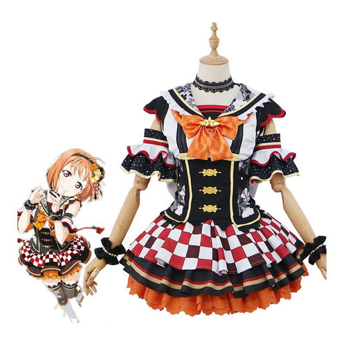 LoveLive!Sunshine!! Takami Chika and Aqours All Members First Month Uniform Cosplay Costume - Cosplay Clans