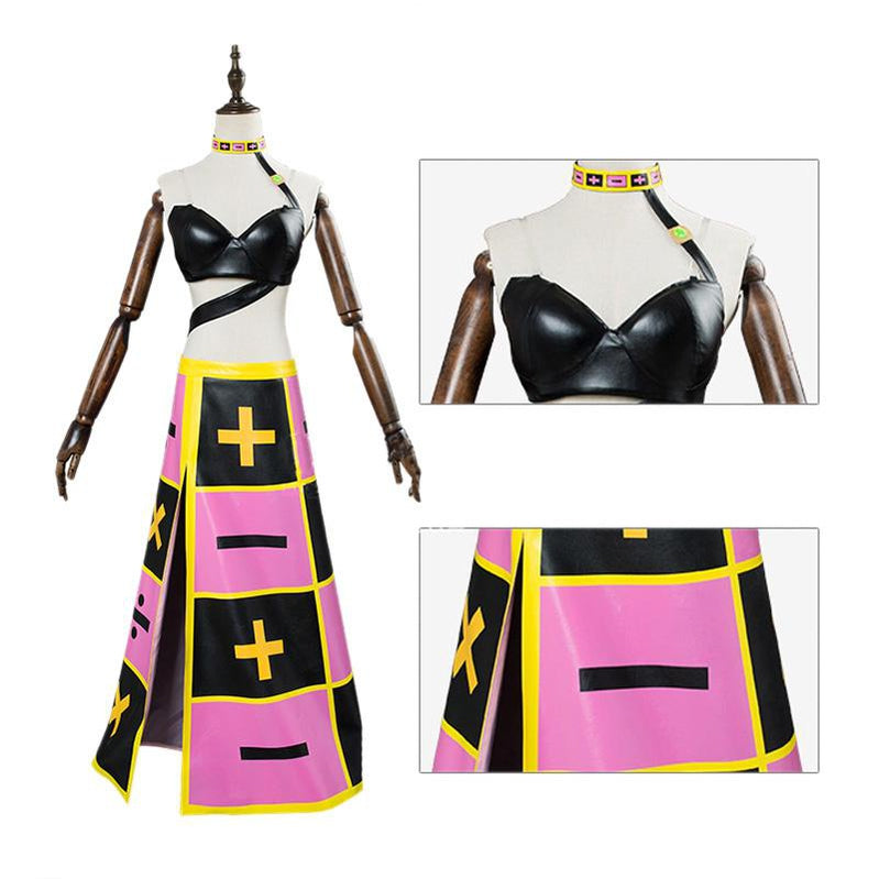 Anime JoJo's Bizarre Adventure Golden Wind Trish Una Cosplay Costume - Cosplay Clans