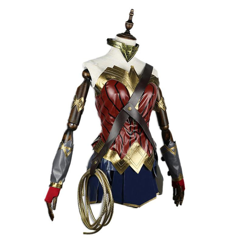 Movie Wonder Woman Princess Diana Cosplay Costume with Free Lasso of Truth - Cosplay Clans