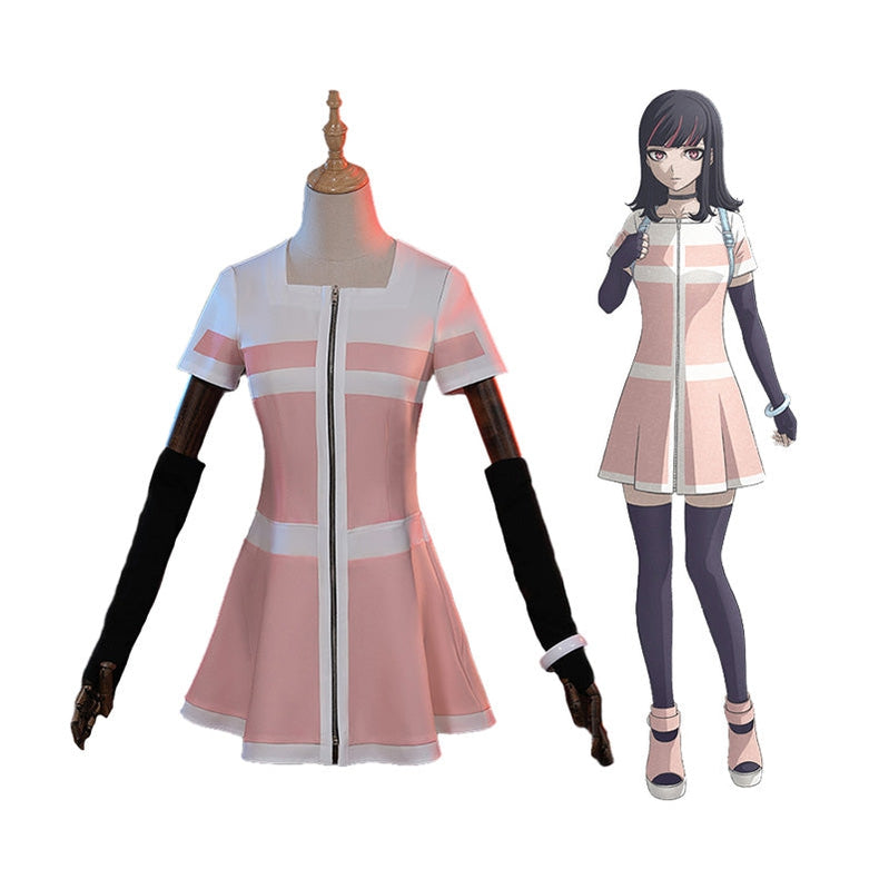 Anime Akudama Drive The Swindler Ordinary Person Outfits Cosplay Costume - Cosplay Clans
