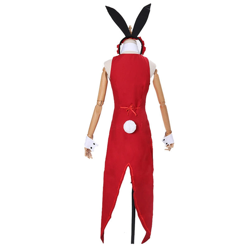 Anime Date A Live Kurumi Tokisaki Bunny Girl Outfits Cosplay Costume - Cosplay Clans