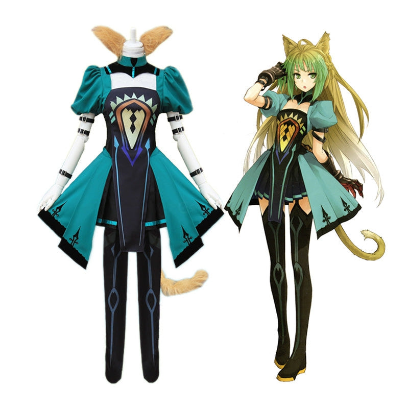 Anime FGO Fate Apocrypha Archer Atalanta Cosplay Costume - Cosplay Clans