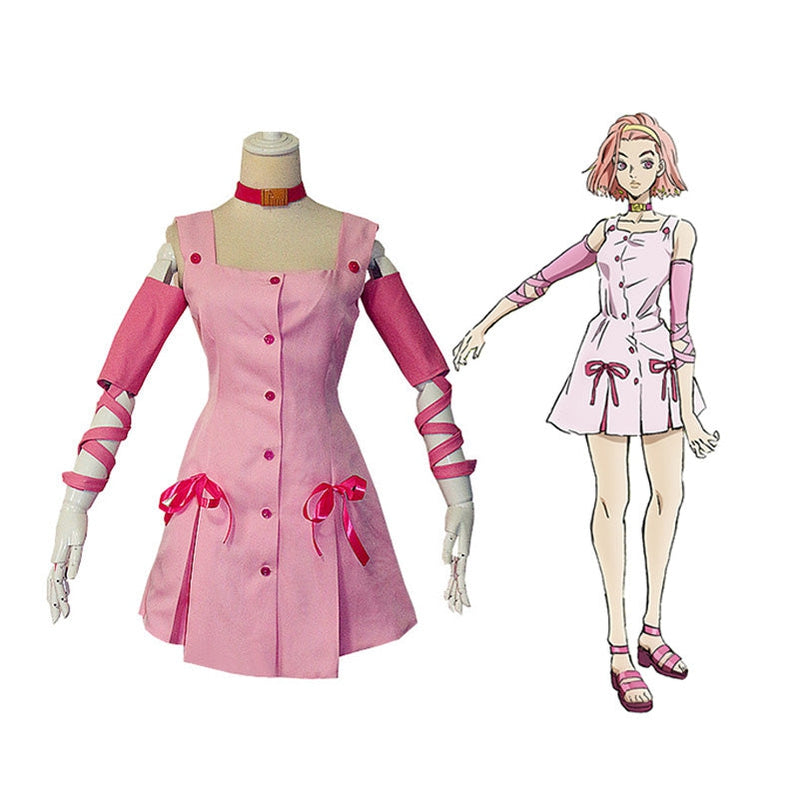 Anime JoJo's Bizarre Adventure Diamond is Unbreakable Sugimoto Reimi Cosplay Costume - Cosplay Clans