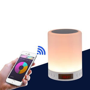 TSV Smart Touch Control Color LED Lamp 3 W Bluetooth Speaker