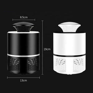 Low energy USB charging without chemical trap mosquito lamp killer
