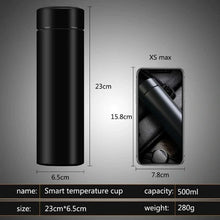 Load image into Gallery viewer, Smart Bottle Stainless Steel Water Bottle Vacuum Flask with LCD Temperature Display