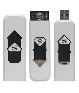 New thin USB touch screen small rechargeable electric lighter Buy 1 Get 1 Free