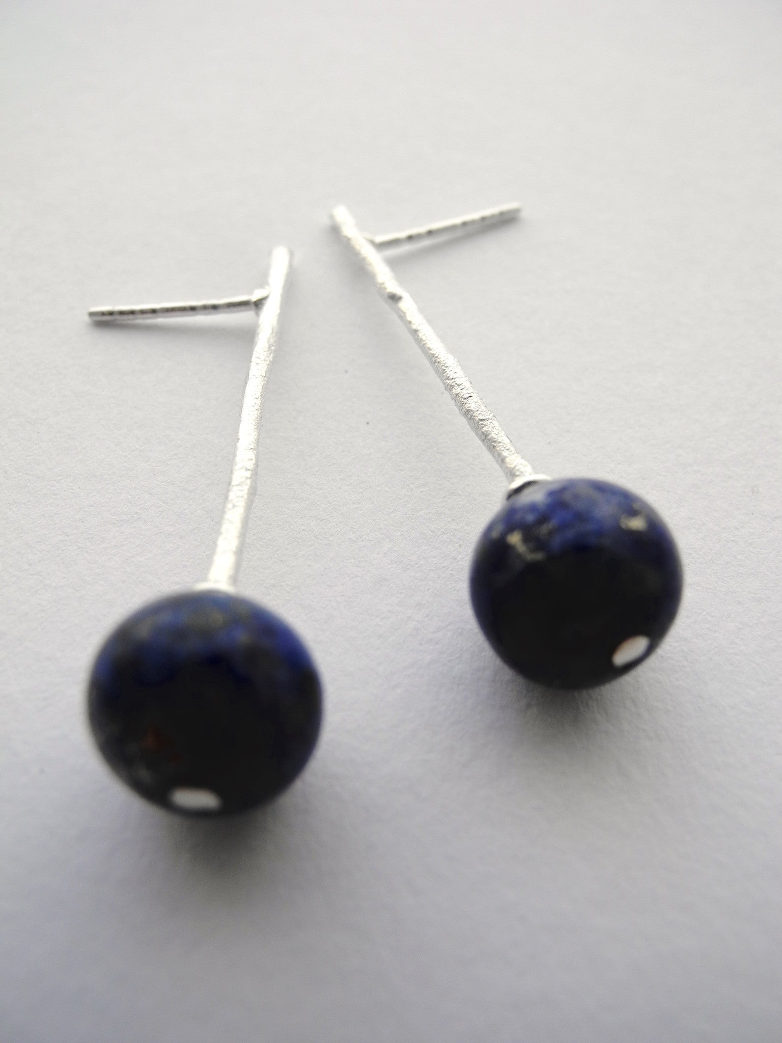 woods azul earrings