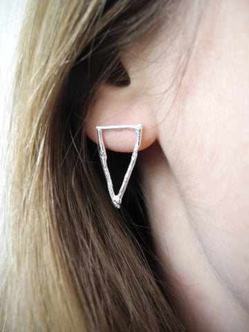 after nature triangle studs