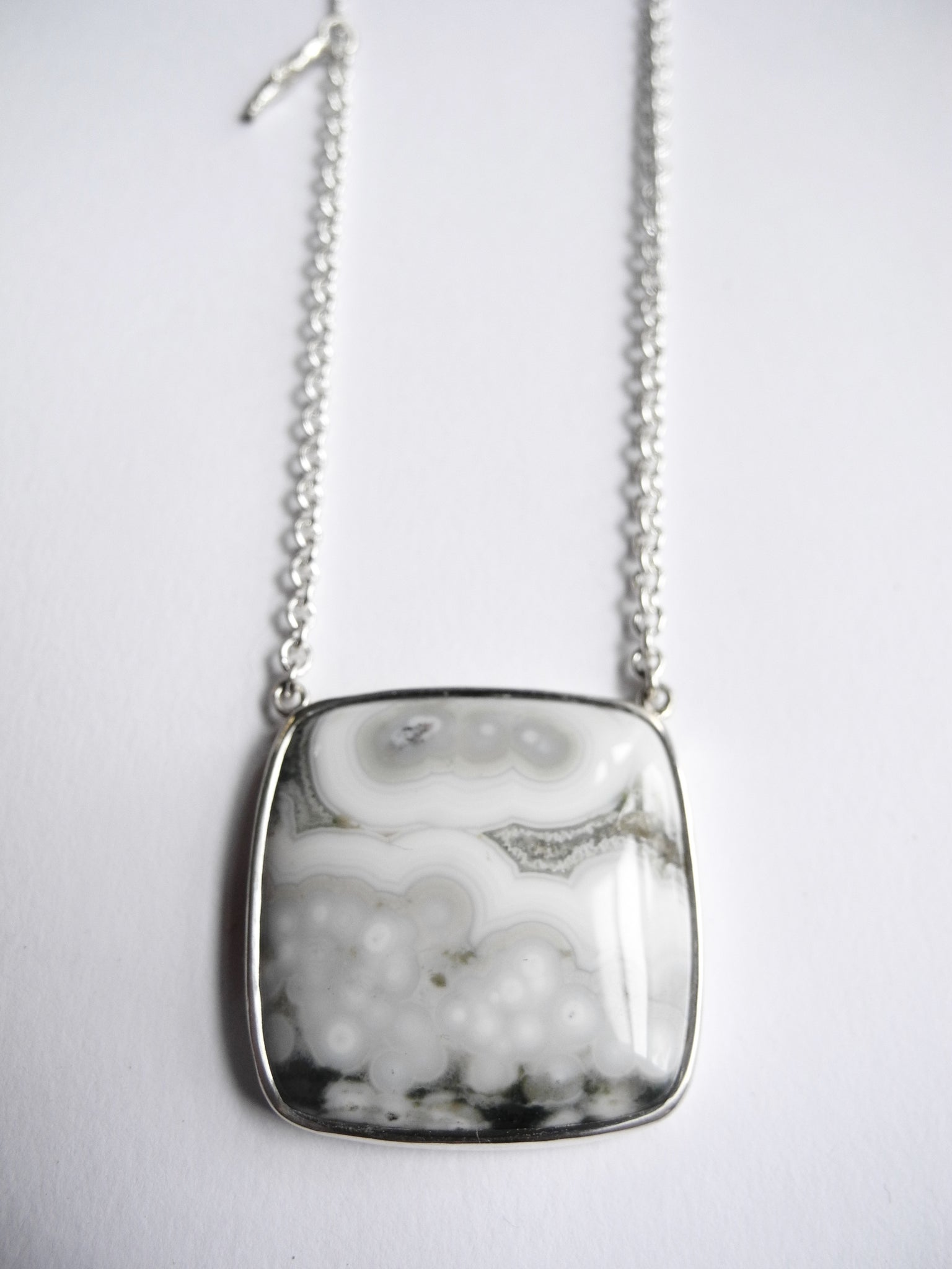 fog and woods and ocean necklace