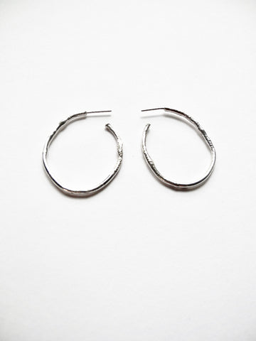 after nature hoop earrings