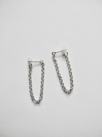 medium chain link hoops
