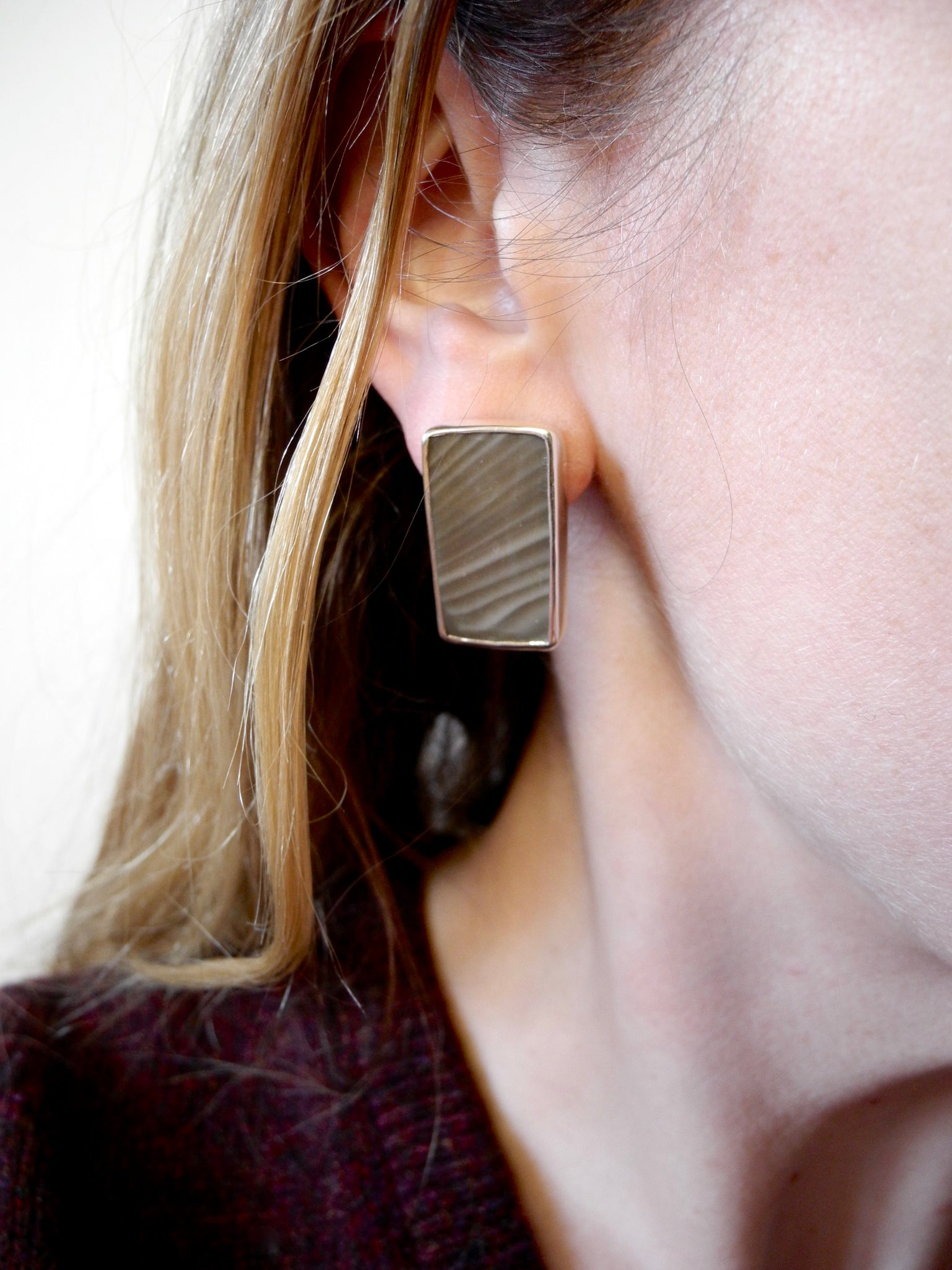 flint earrings
