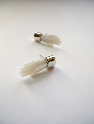 little hand earrings