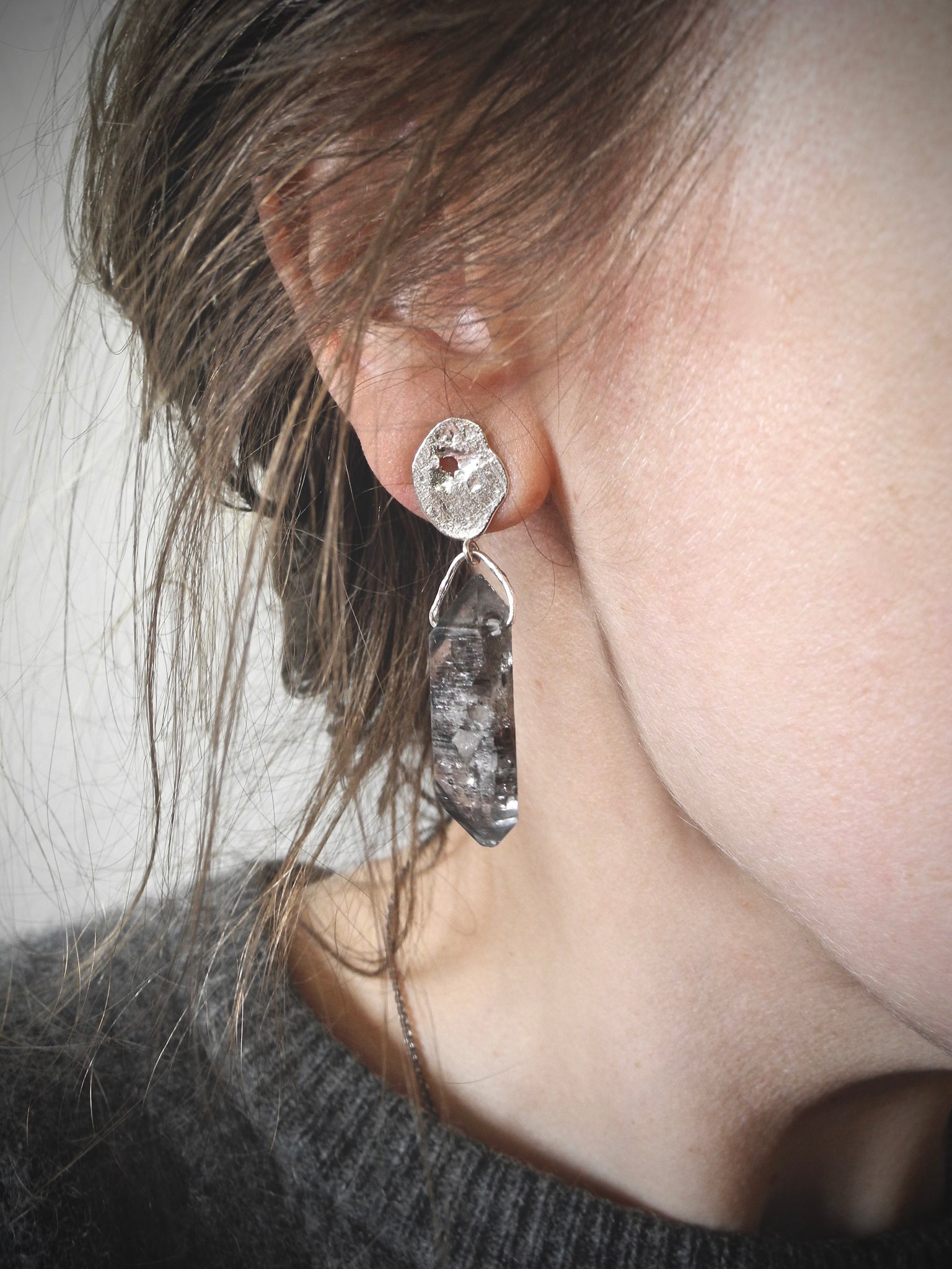 erosion earrings