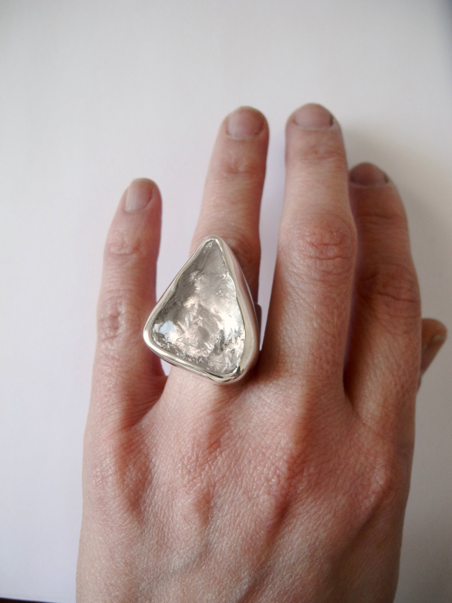 see the hidden quartz ring