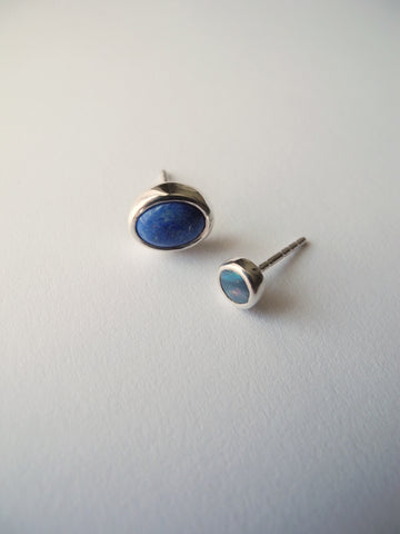 bright lit blue sky earrings
