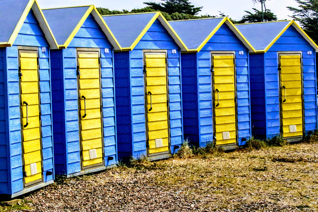 Beach Huts  - Fine Art Print