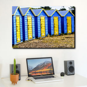 Beach Huts  - Wall Art