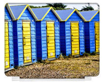Load image into Gallery viewer, Beach Huts - ipad Smart Cover