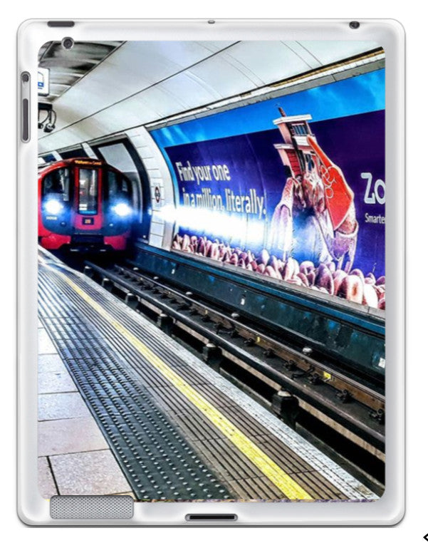 London Tube - iPad Silicone Case