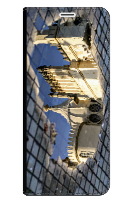 Reflecting on Brighton Pavilion -  Wallet Case (Front Printed)