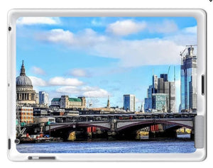 London Cityscape with St Pauls - iPad Silicone Case