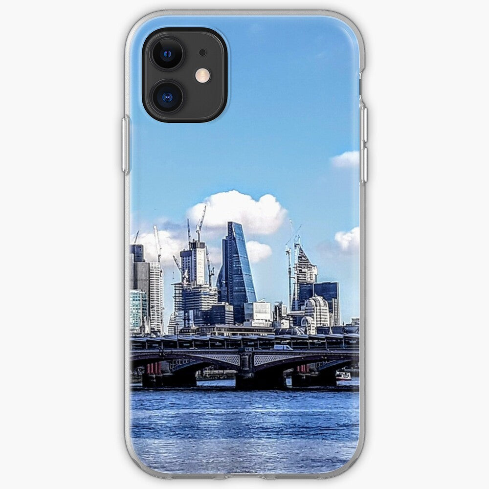 London Cityscape - Silicone Case