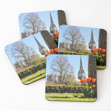 Load image into Gallery viewer, Red Tulips - Coasters & Placemats