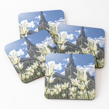 Load image into Gallery viewer, White Tulips - Coasters & Placemats