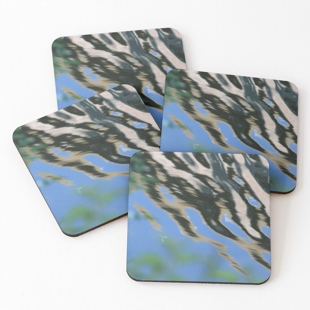 Abstract Reflection 5 - Coasters & Placemats
