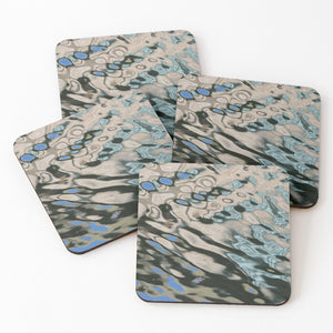 Abstract Reflection 3 - Coasters & Placemats