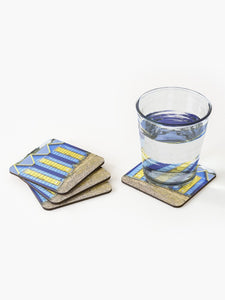 Beach Huts - Coasters & Placemats