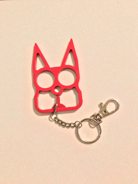 Kitty Self Defense Knuckle Keychain