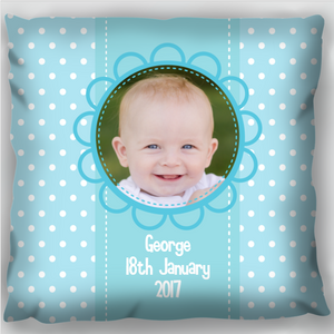 Baby Boy Blue Cushion