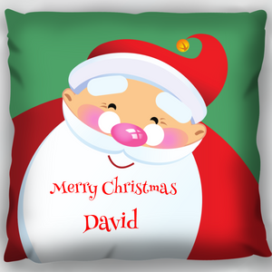 Big Santa Head Cushion
