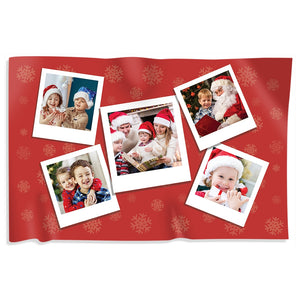 Christmas Blanket Photo Collage